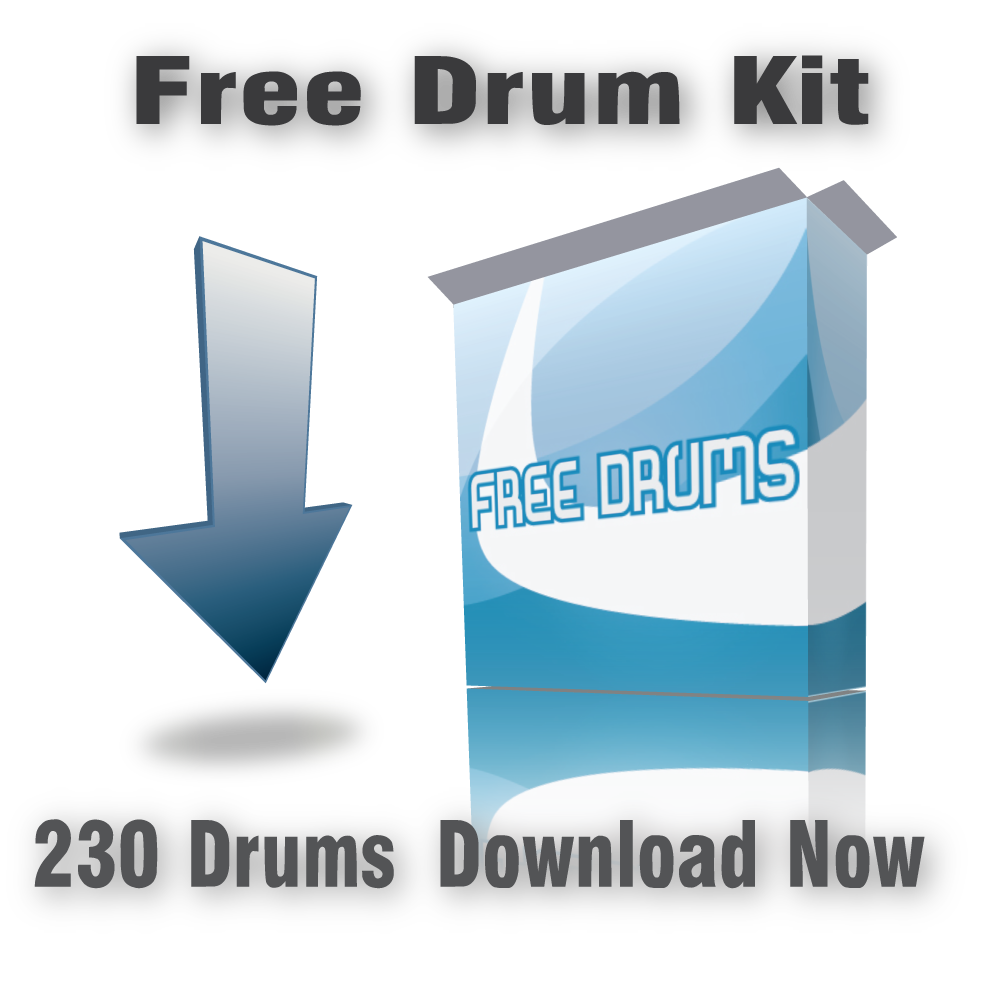 Free Drum Kit Download – 230 Drums