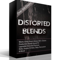 Distorted Blends – Over 300 Analog Drums