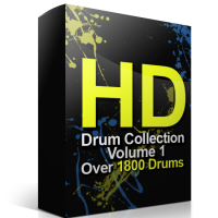 HD Collection 1 – Over 1800 Drum Samples