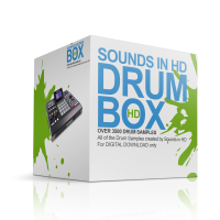 Sounds in HD Drum Box – Over 3500 Drum Samples