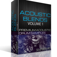 Sounds in HD Acoustic Blends – Over 150 Drum Samples