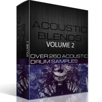 Sounds in HD Acoustic Blends 2 – 260 Drum Samples
