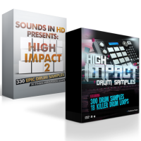 High Impact Bundle – Over 600 Drum Samples