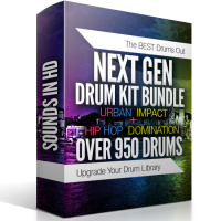 Next Gen Drum Bundle – Over 950 Drums BEST VALUE