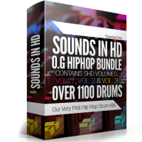 Sounds in HD O.G Hip Hop Bundle – Over 1100 Drums