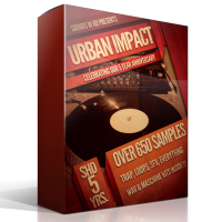 Urban Impact Over 650 Drums Wav & Maschine Kits