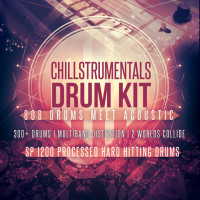 808 Trap Drums & Acoustic – Chillstrumentals Drum Kit