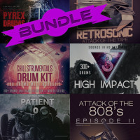 6 Kit Bundle – Over 1600 New Drums