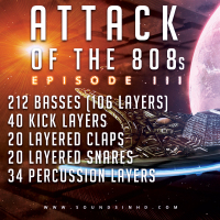 330+ Samples – Attack of the 808s III