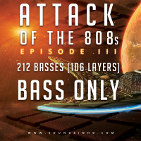 Attack of the 808's III Bass Only